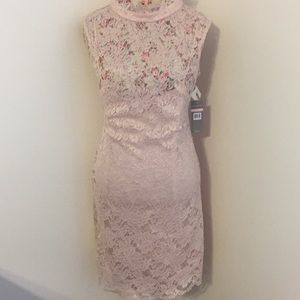 Hope & Harlow brand woman's 10 blush dress NWT